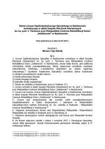 thumbnail of Statut Liceum – stan prawny na 01.09.2019 r.
