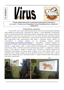 Gazetka VIRUS nr 10-2020-2021